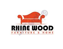 RHINE WOOD FURNITURE AND HOME / LOGO