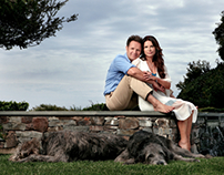MARK BURNETT AND ROMA DOWNEY FOR PEOPLE MAGAZINE