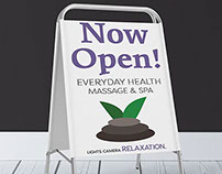 Everyday Health Now Open Sign