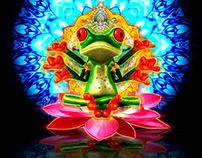 Frog  / Illustration