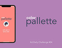 color pallette - XDdailychallenge #4
