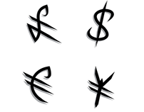 Concept Online Banking Signage & Symbols