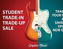 Empire Music Student Trade In Flyer