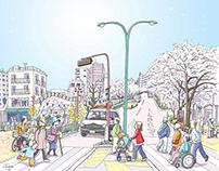Works | Tokyo Metropolitan Tax Bureau Posters May 2020