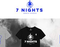 7 NIGHTS | Branding 2018