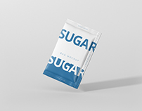 Salt / Sugar Bag Mockup - Rectangle