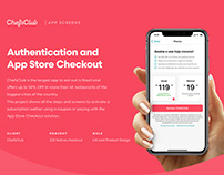ChefsClub - Authentication and App Store Checkout