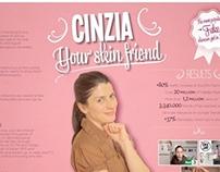 Cinzia Your Skin Friend (social & viral)