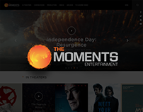 The Moments Entertainment Website