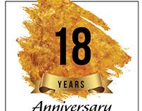 Anniversary Invitation Flyers