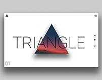 Triangle - Landing Page Concept