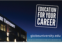 Billboards: Globe University/MSB 2010-2014