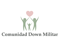 Logo e invitación Comunidad Down Militar