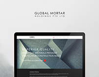 Global Mortar, Singapore // Web Design.