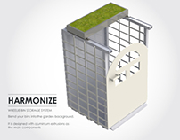 Harmonize - Wheelie Bin Storage