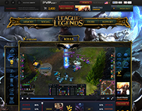 League of legends community web site proposal