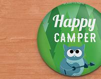 Camp Vendini 2016 Collectible Buttons | Vendini