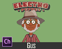Adobe Character Animator Gus Puppet