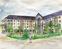 School project: apartments