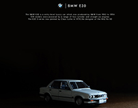 BMW E30 TOMICA DIE CAST EDITORIAL