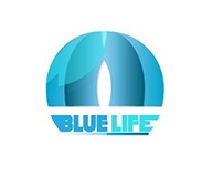 Blue Life Logo Design