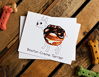 Dog Treats Greeting Cards