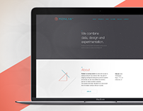 PionLab Logo and Landing page