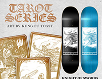 Vagrant Skateboards // Tarot Series