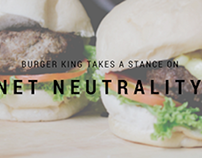 Burger King Takes a Stance on Net Neutrality