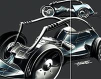 Modern Chariot Race
