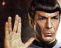 Star Trek: Origins - An Illustrated Print