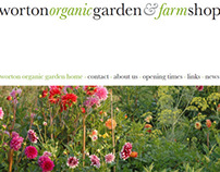 Worton Organic Farm - Web Development
