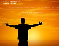 Website Redesign For Colorado School of Somatic Studies