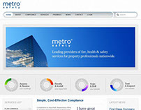 Metro Safety Website Design and Development
