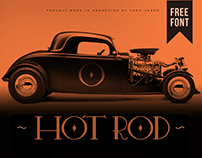HOT ROD | Free Font