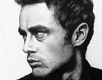 James Dean Illustration