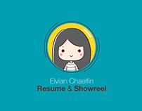 Resume & Portfolio Reel 2016