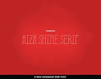 Aiza - Free Shine Serif Font
