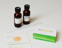 Zest Aromatics - Business Cards