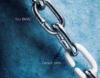 BMW Parts & Service Print Campaign