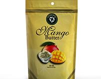 Mango Butter Packaging Design