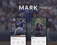 Mark profile