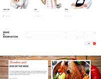 Restaurant template my design