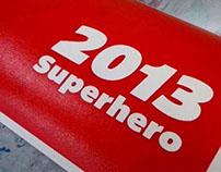 2013 Superhero Calendar