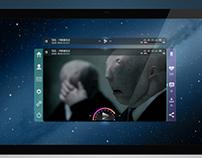 Parabol Video Player - UI