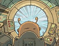 John Fuzz, Space Explorer