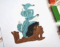 "Illustrations for R. Kipling's ""The Jungle Book"""