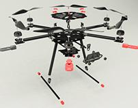 Tarot drone - Práctica de modelado