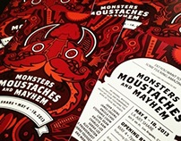 Monsters, Moustaches, and Mayhem