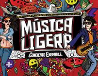 Música Ligera Rock Show: Concept Art